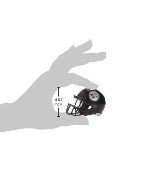 Pittsburg Nfl Riddell Speed Pocket Pro Micro/Pocket-Size/Mini Football