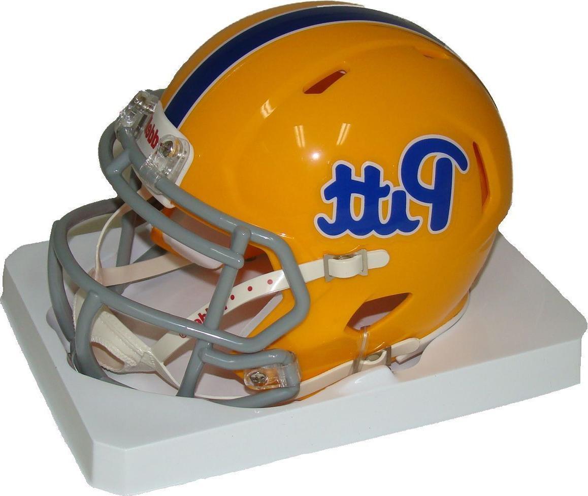 Pittsburgh Pitt Throwback NCAA Revolution Mini Football Helmet