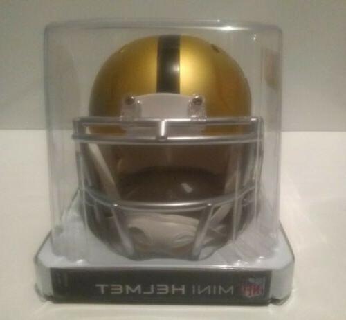 PITTSBURGH STEELERS BLAZE Mini Helmet Riddell NEW