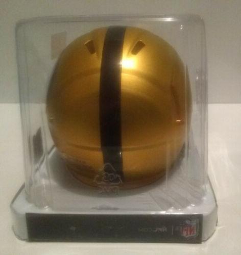 PITTSBURGH BLAZE Speed Mini Helmet Riddell NEW