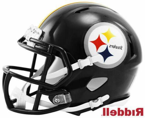 17d4b1ac2 Pittsburgh Steelers Official NFL 5 inch Mini Helmet