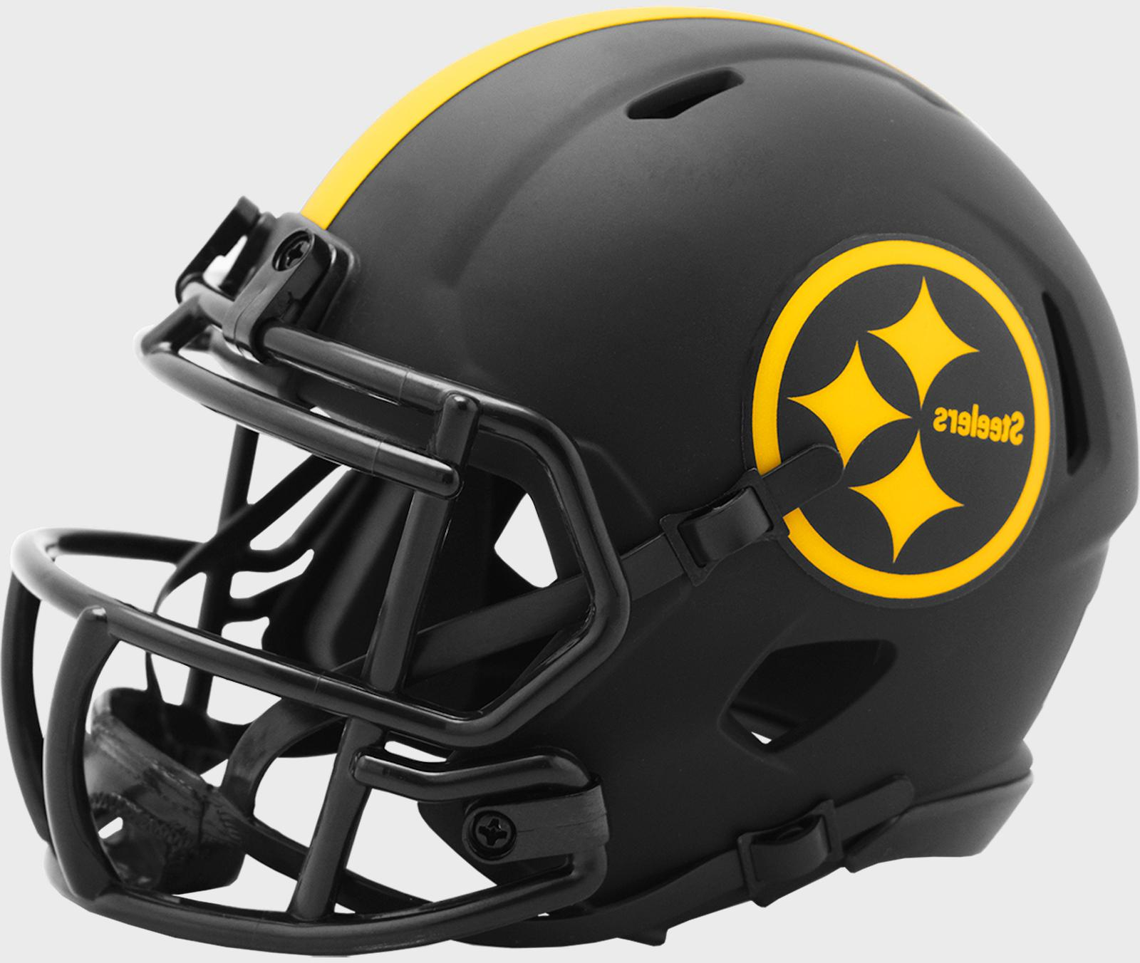 PITTSBURGH STEELERS NFL Riddell SPEED Mini Football Helmet B