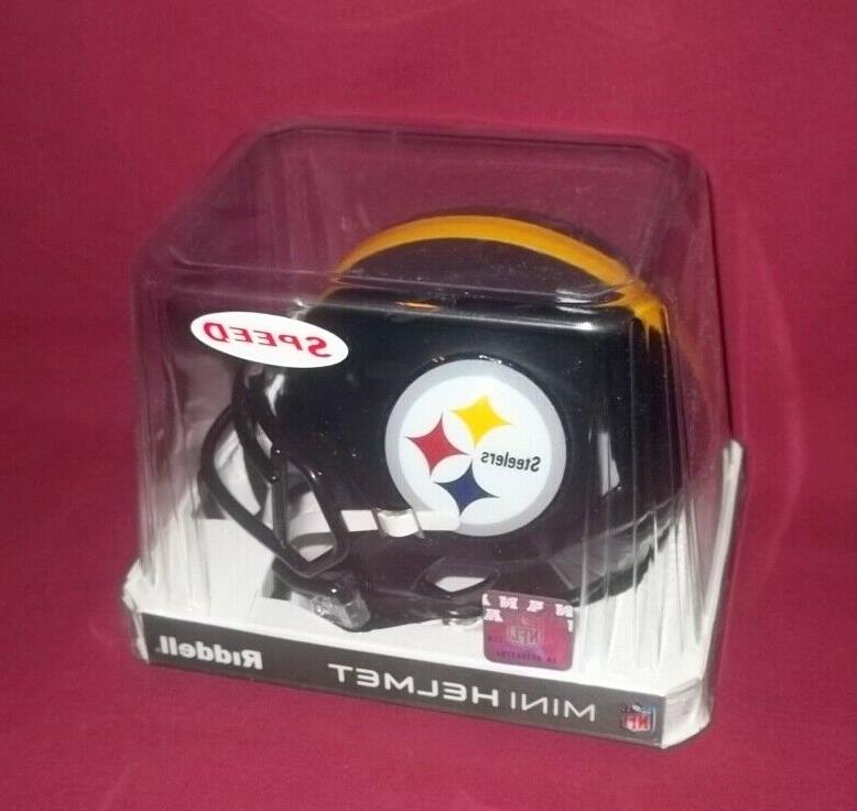 Pittsburgh Football Mini Helmet Sealed BRAND NEW