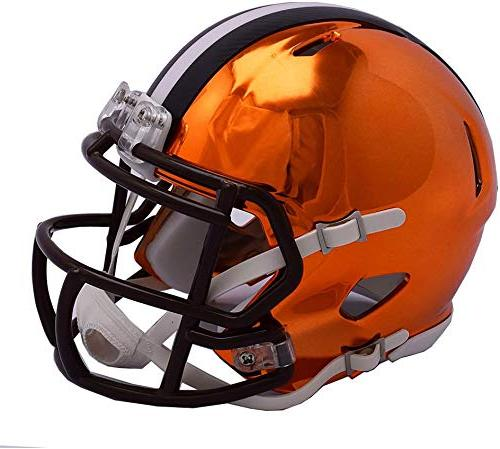 riddell cleveland browns chrome alternate