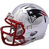 Sports Memorabilia Riddell New England Patriots Chrome Alter
