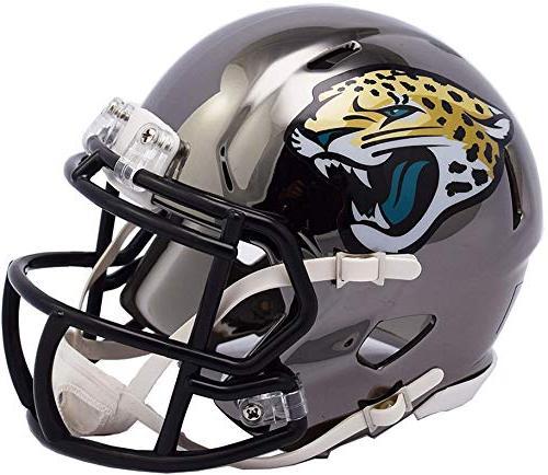 riddell jacksonville jaguars chrome alternate