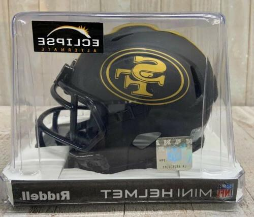 san francisco 49ers black eclipse speed mini