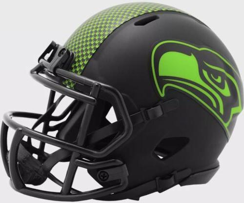 seattle seahawks alt eclipse speed mini helmet