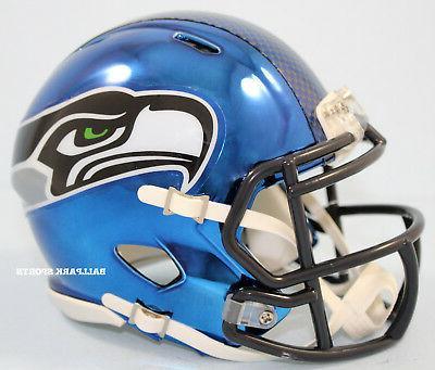 SEATTLE - Chrome Alternate Riddell Speed Helmet