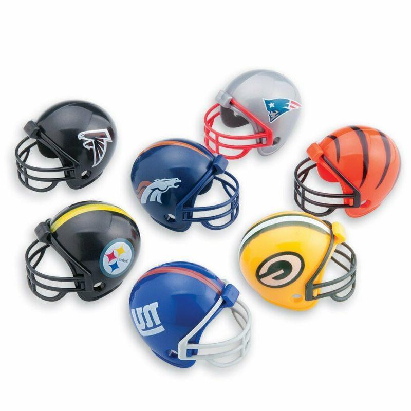 smilemakers 32 nfl mini football helmets