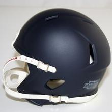 Riddell Speed Blank Mini Football Helmet Shell - Matte Black