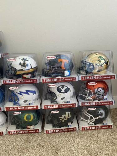 Riddell Mini Helmet ncaa College *READ DESCRIPTION*