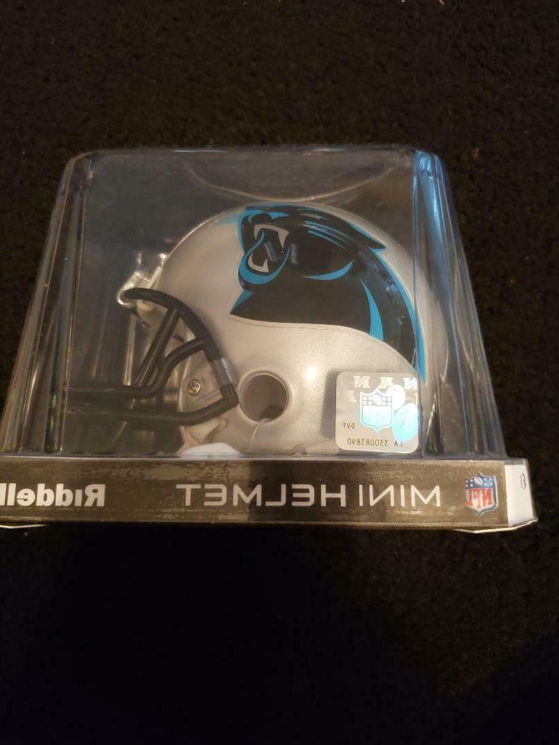 Sports Memorabilia Panthers Mini Helmet