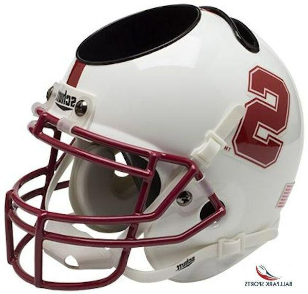 stanford cardinal mini helmet desk caddy