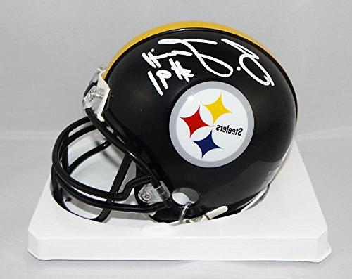 stephon tuitt autographed pittsburgh steelers mini helmet