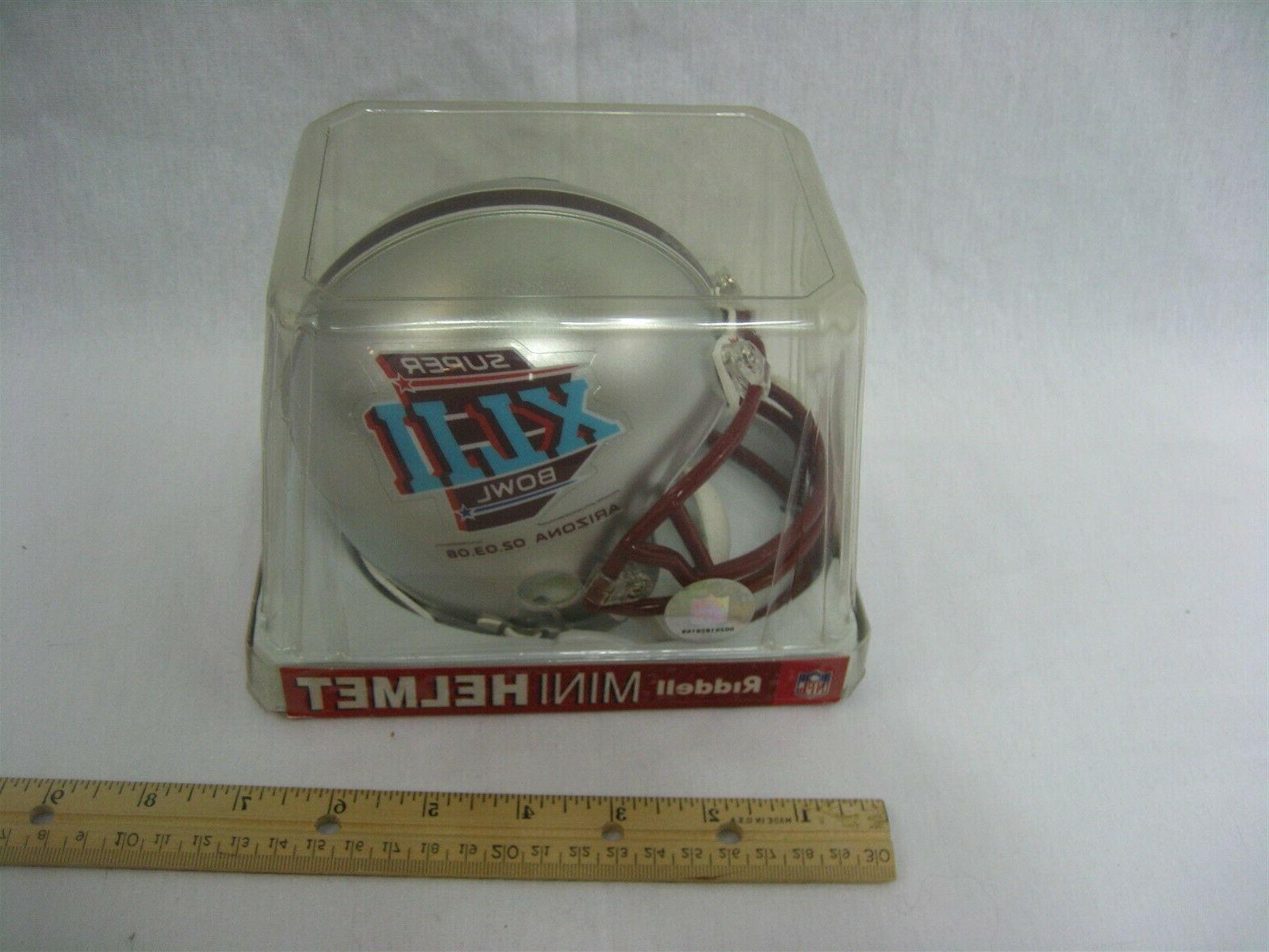 Super Bowl XLll Riddell Replica Helmet