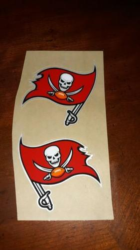 Tampa bay Buccaneers MINI  Football Helmet Decals