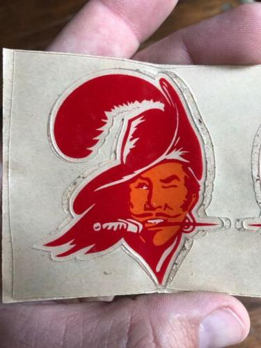 "Tampa Buccaneers MINI HELMET SET Rare NFL Pair Matching 3"""