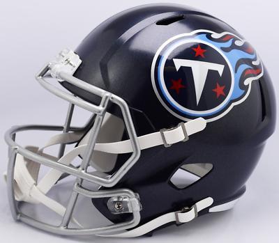 tennessee titans nfl speed mini football helmet