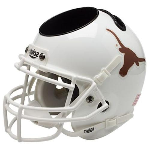 texas longhorns mini helmet desk caddy