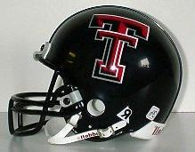 Texas Tech Red Raiders Riddell Mini Replica Helmet