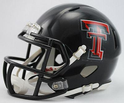 Texas Tech Red Raiders NCAA Riddell Speed Mini Helmet