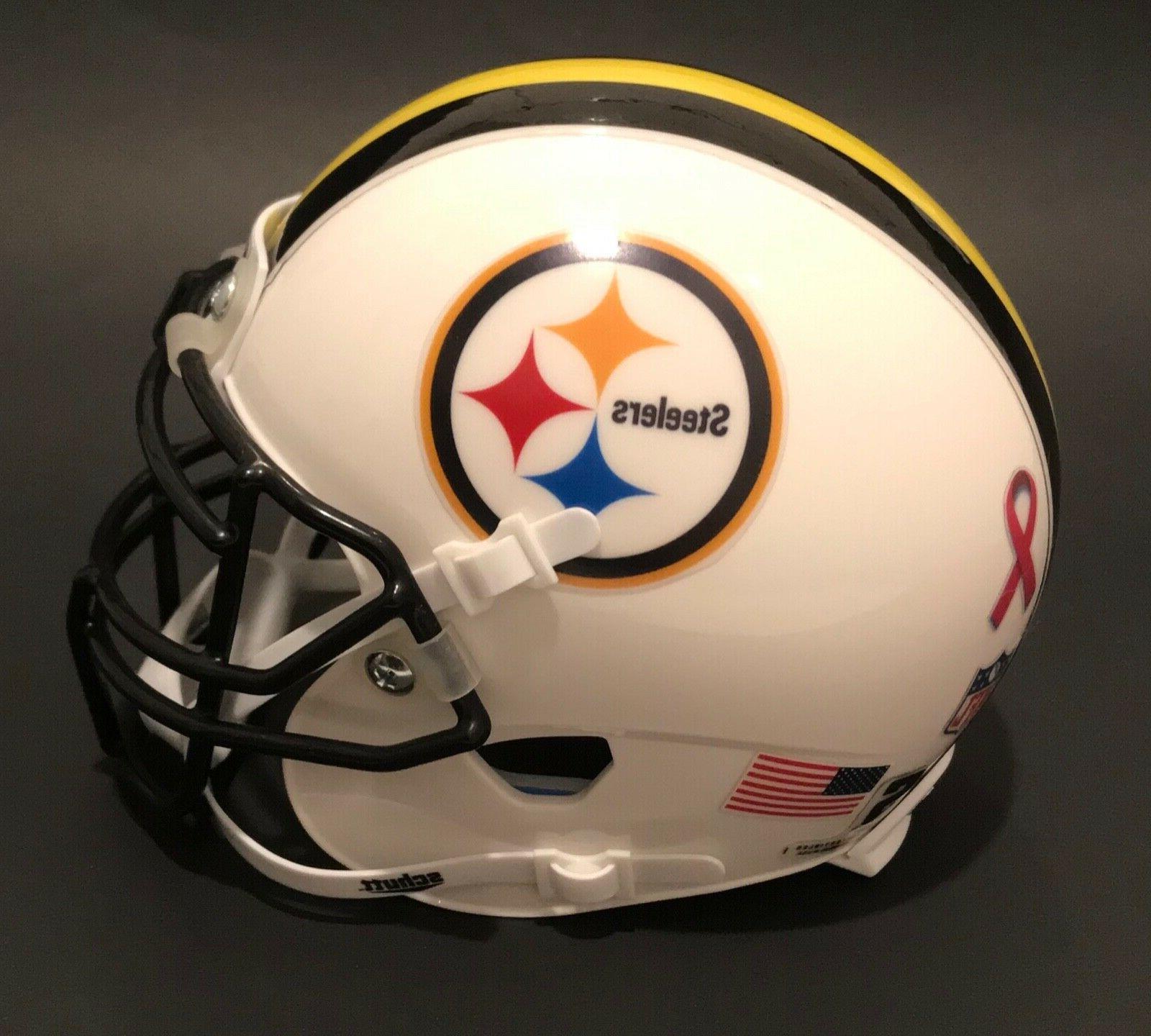 TROY POLAMALU Pittsburgh Custom Schutt Football Helmet *NICE*