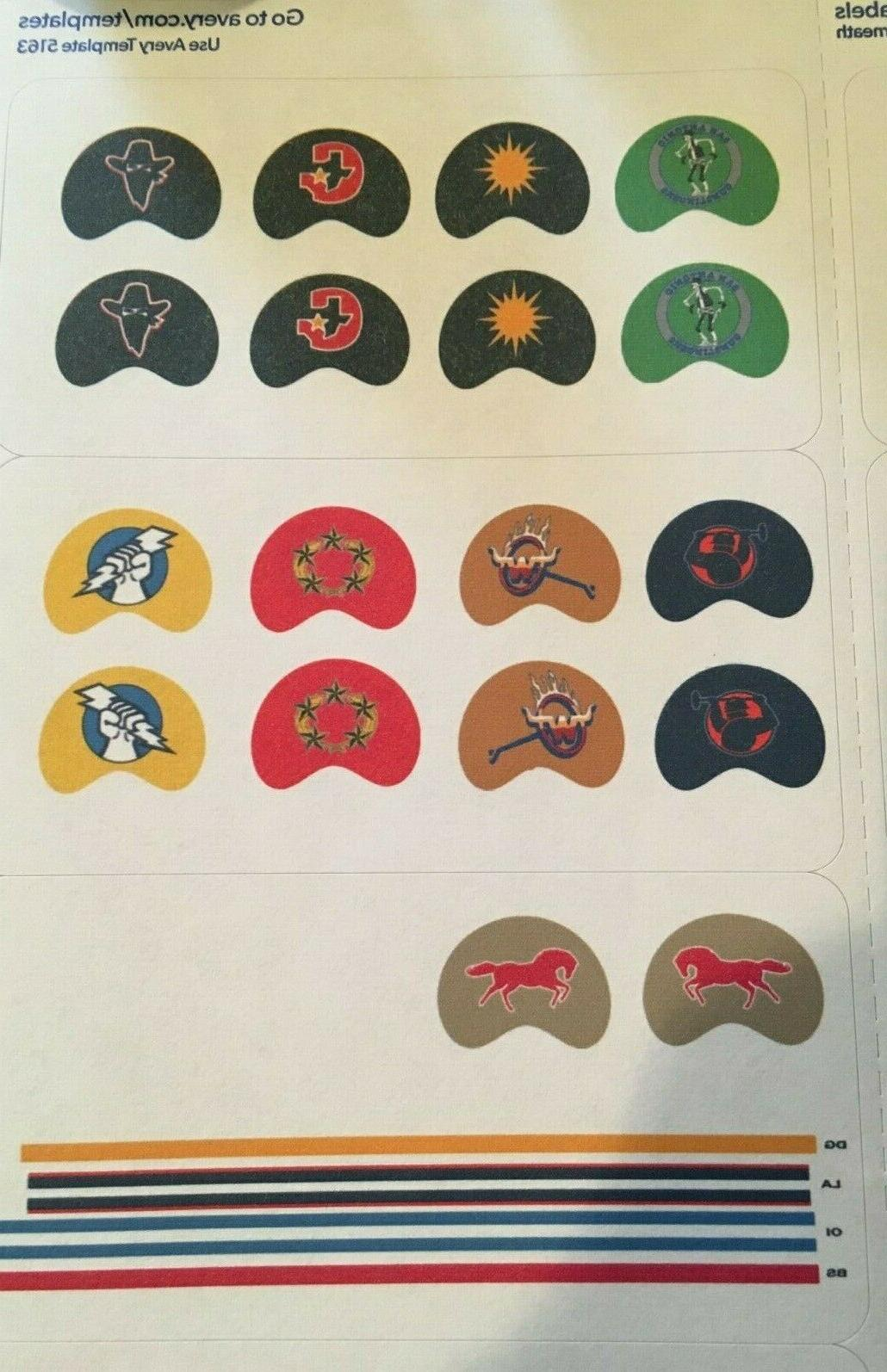 USFL Gumball Decal