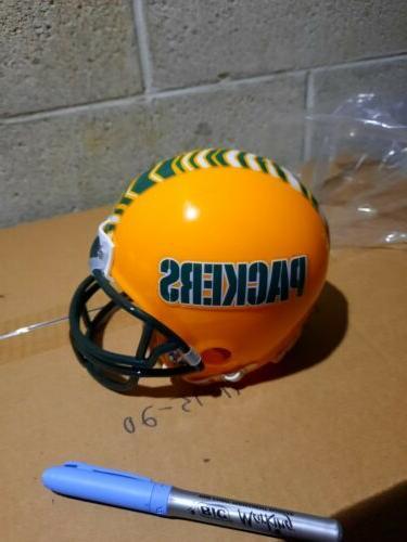 washingston redskins custom logo mini helmet throwback