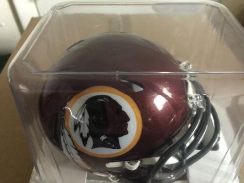 """WASHINGTON REDSKINS """"Classic"""" SPEED Mini Football Helmet"""