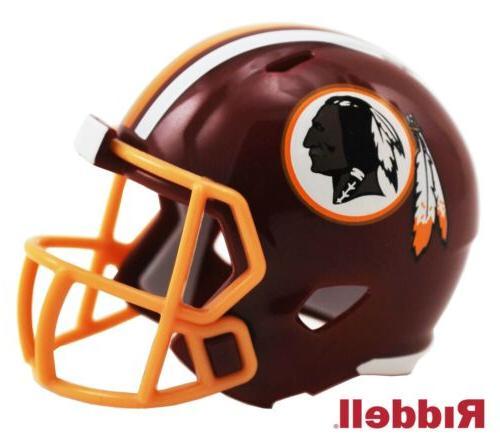 washington redskins pocket pro mini football helmet