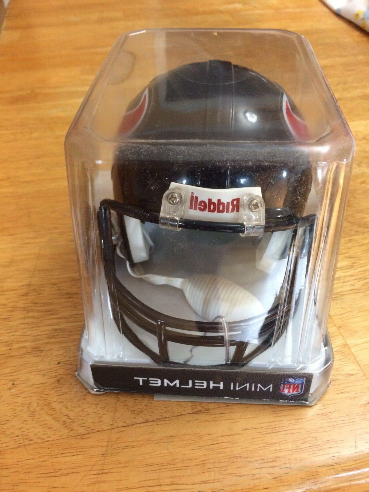 WOW!! HOUSTON NFL Riddell MINI HELMET