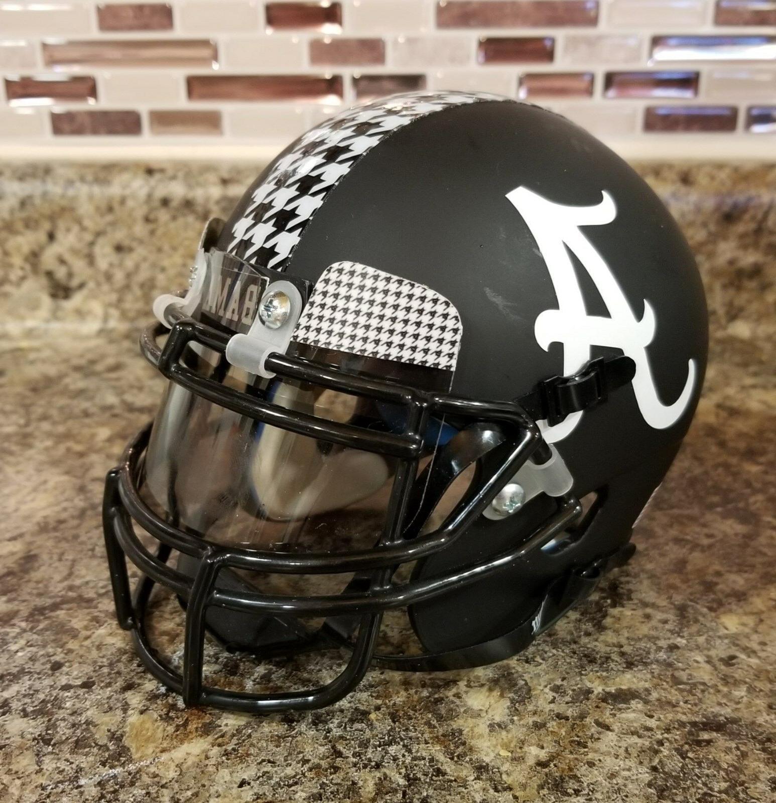 Schutt XP Mini Football Helmet - BLACKOUT SCRIPT A - Alabama