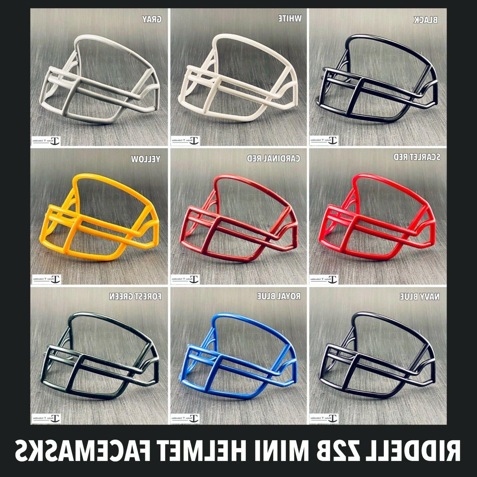 z2b plastic mini helmet facemask replacement throwback