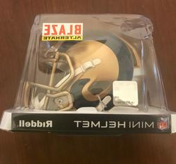 LA Rams Riddell BLAZE NFL Mini  Football Helmet