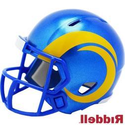 LA Rams Riddell Pocket Pro Mini Football Helmet - New in Pac