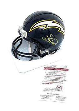 LaDainian Tomlinson San Diego Chargers Signed Autograph Mini