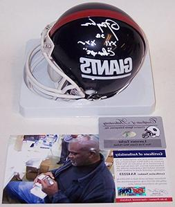 Lawrence Taylor Autographed Hand Signed NY New York Giants M