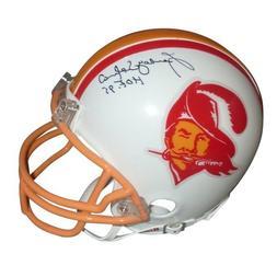 Lee Roy Selmon Autographed Tampa Bay Buccaneers  Mini Helmet