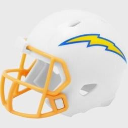 Los Angeles Chargers 2020 Logo Riddell Mini Speed Pocket Pro
