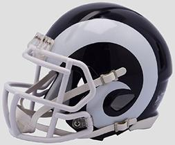 Los Angeles Rams New 2017 Logo Riddell Revolution Speed Mini
