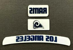 LOS ANGELES RAMS MINI HELMET DECAL SET