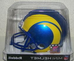 Los Angeles Rams New 2020 VSR4 Mini Football Helmet