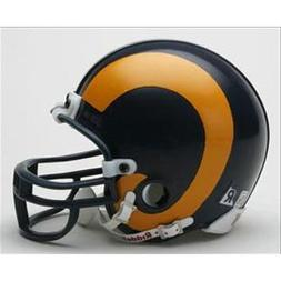 Los Angeles Rams 1981-99 Replica Throwback Mini-Helmet