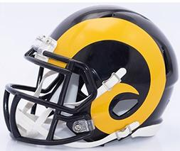 Los Angeles Rams Riddell Speed Mini Replica Color Rush Footb