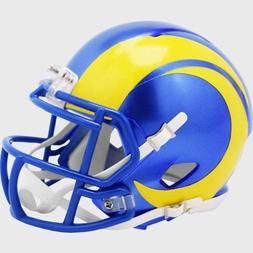 Los Angeles Rams Speed Mini Football Helmet - New 2020 Logo
