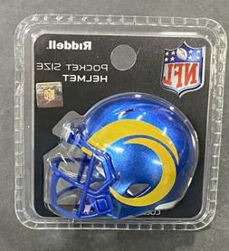 LOS ANGELES RAMS - Riddell Speed Pocket Pro Mini Helmet