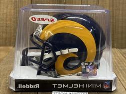 LOS ANGELES RAMS  Riddell Speed Mini Helmet