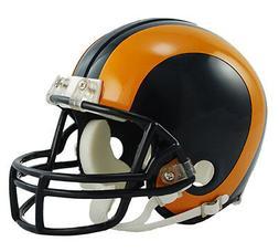 LOS LA ANGELES RAMS 1981-1999 RIDDELL NFL FOOTBALL MINI HELM
