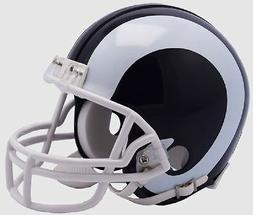 LOS LA ANGELES RAMS RIDDELL NFL FOOTBALL MINI HELMET WHITE H